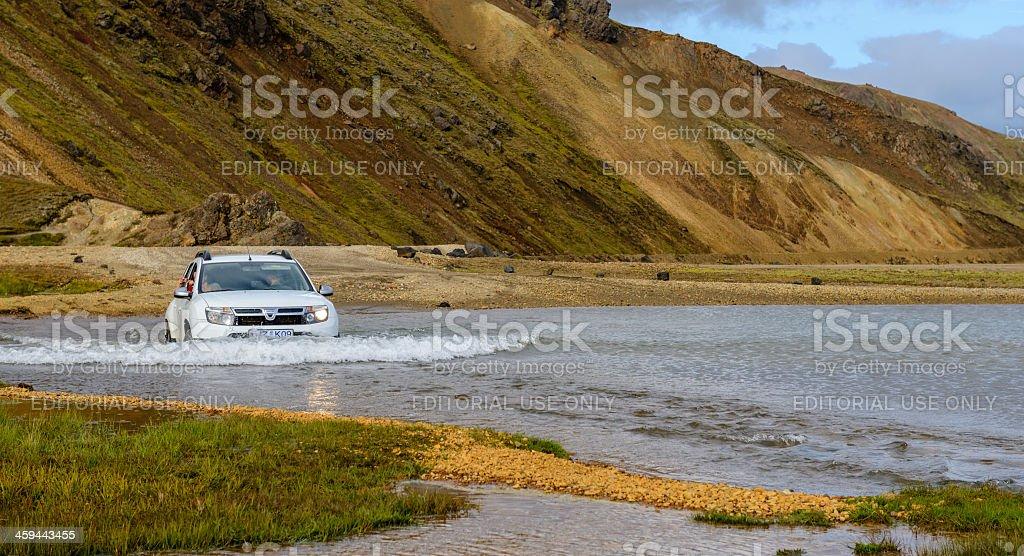 Dacia Duster royalty-free stock photo