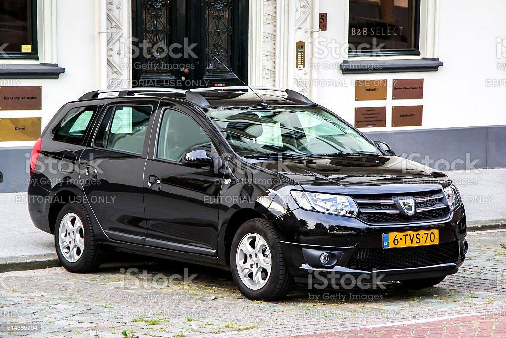 Dacia Logan MCV stock photo