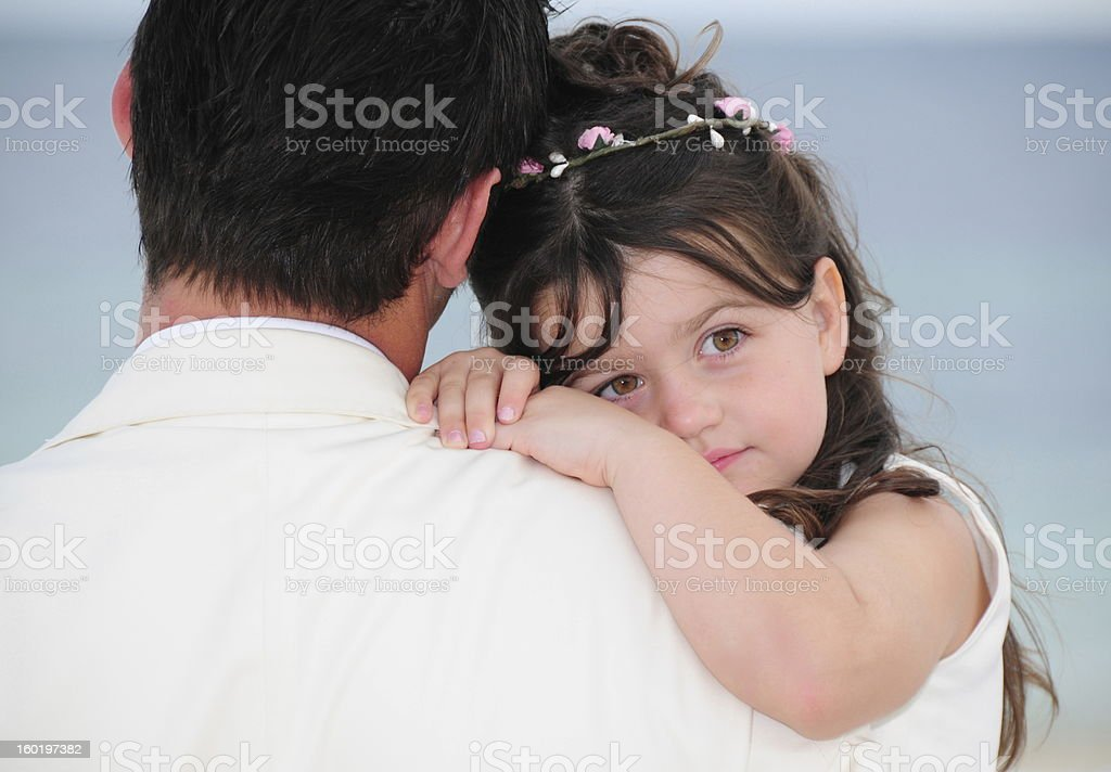 Daddies Girl, Cancun, Mexico royalty-free stock photo