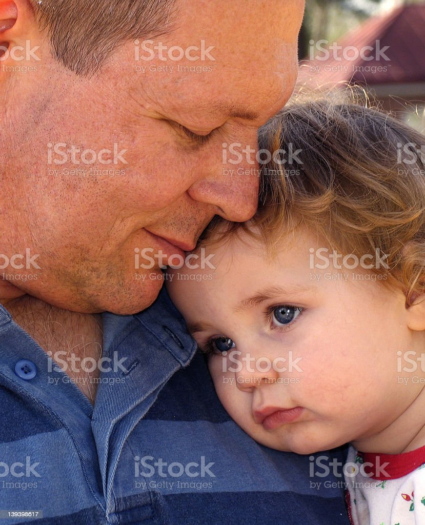 Daddy, color version royalty-free stock photo