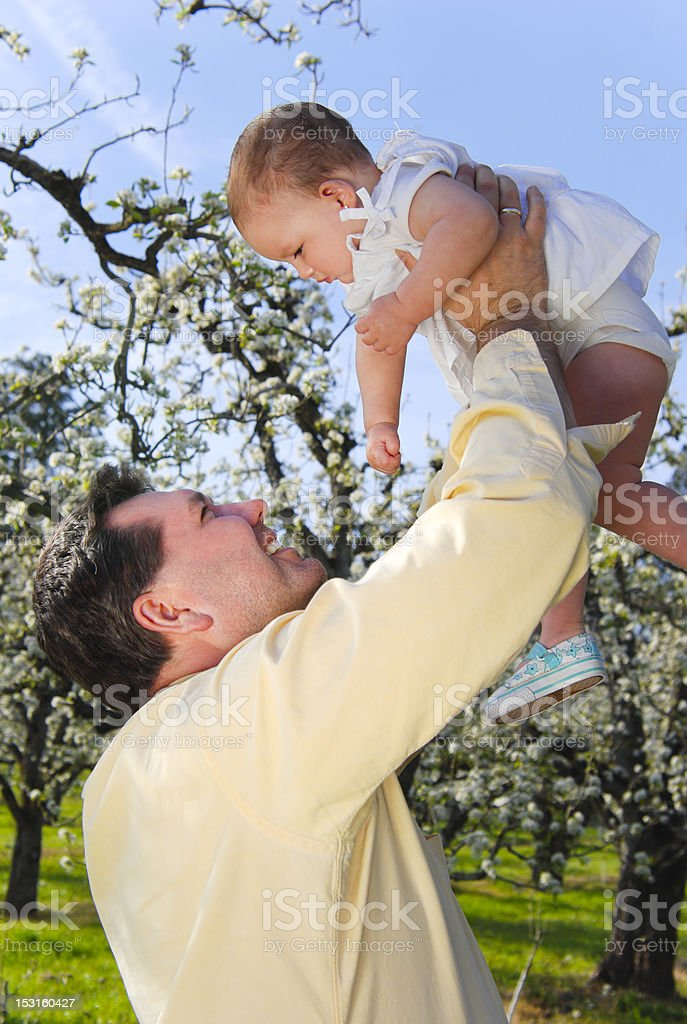 Daddy Love royalty-free stock photo