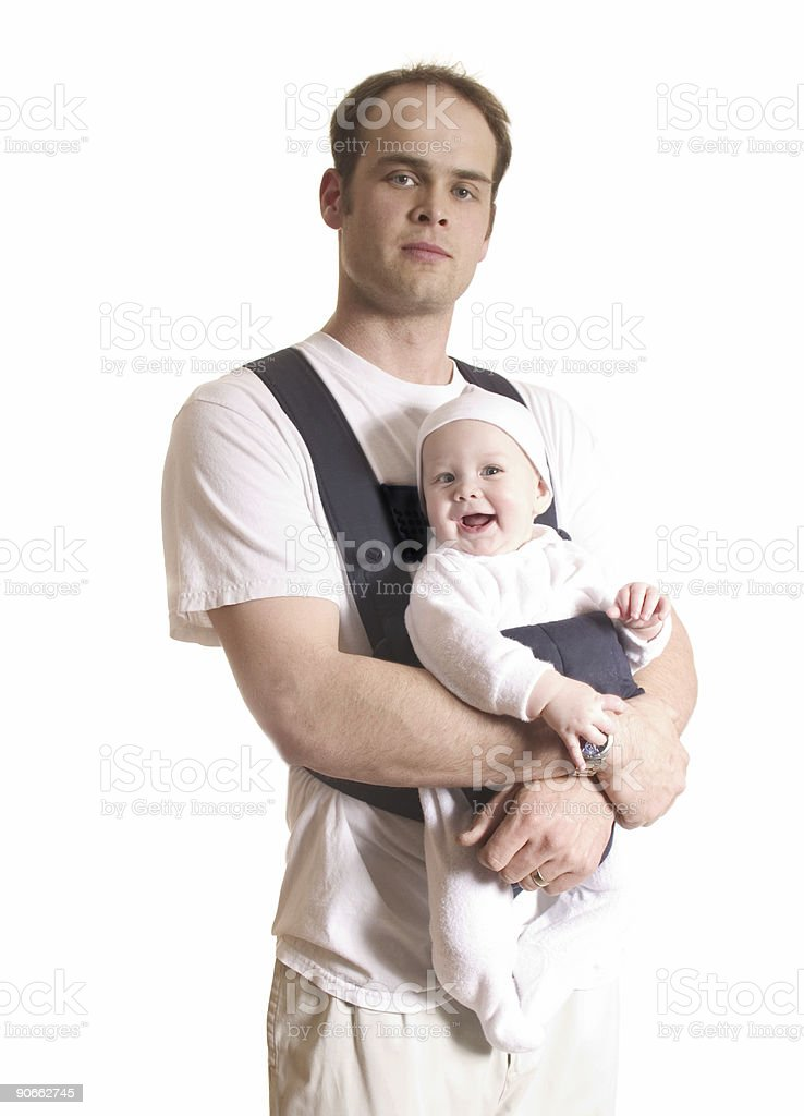 Daddy royalty-free stock photo