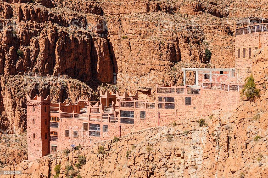 Dades Gorge, Morocco stock photo