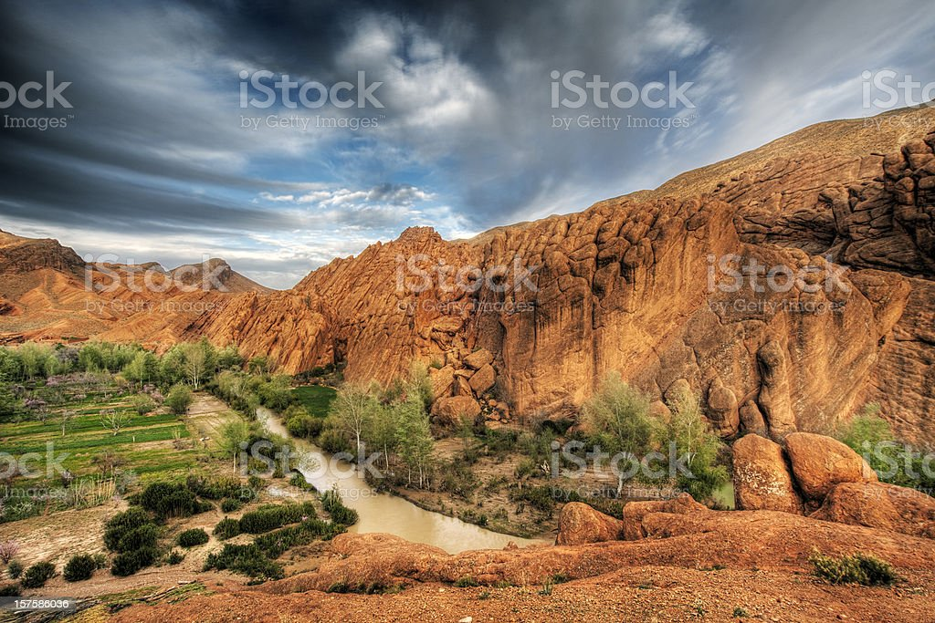 Dades Valley royalty-free stock photo