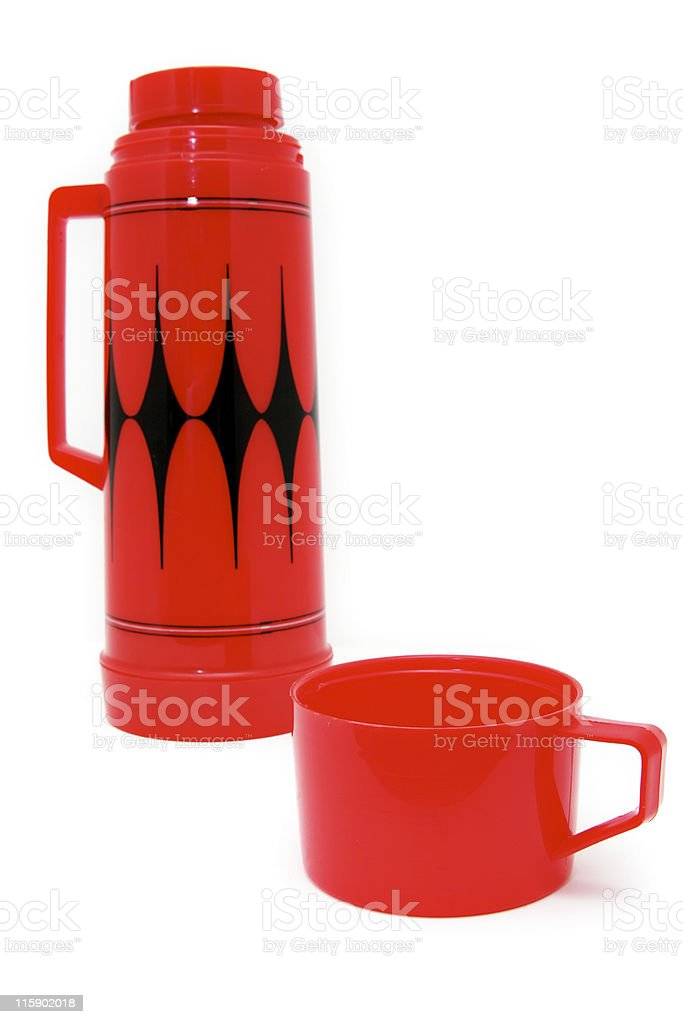 Dad's lunch thermos royalty-free stock photo