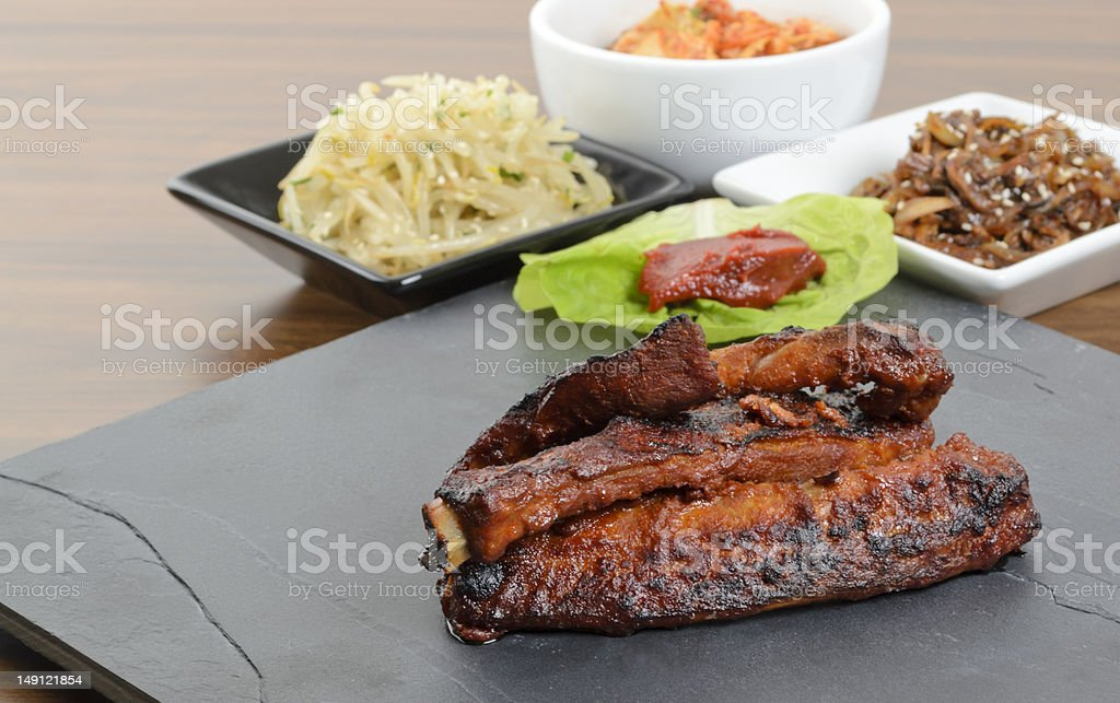 Daeji Galbi royalty-free stock photo