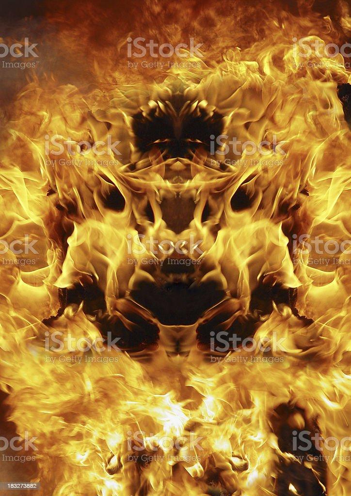 Daemon stock photo