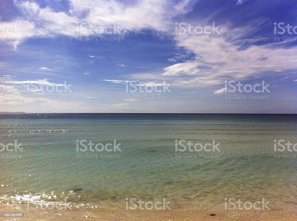 Dagat Bohol Landscape royalty-free stock photo