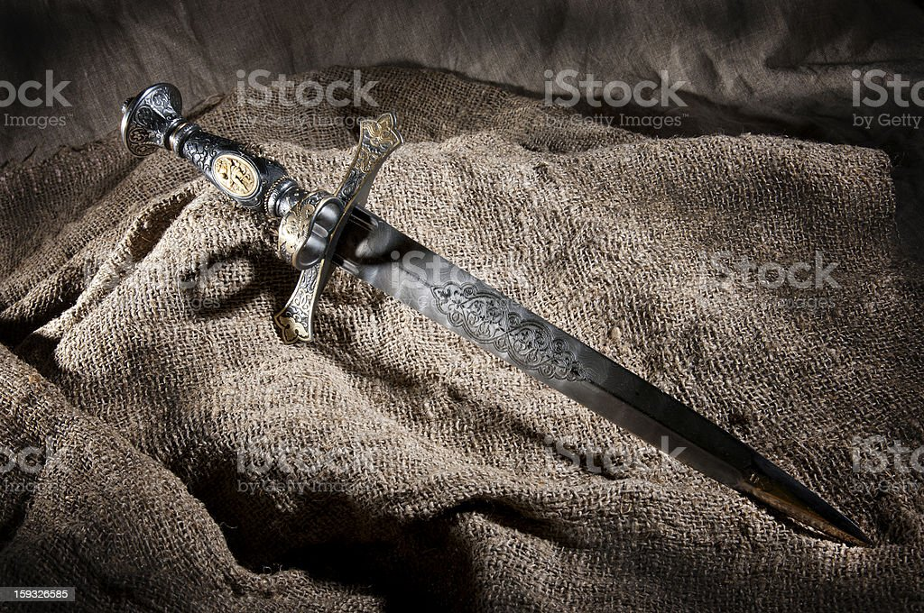 Dagger royalty-free stock photo