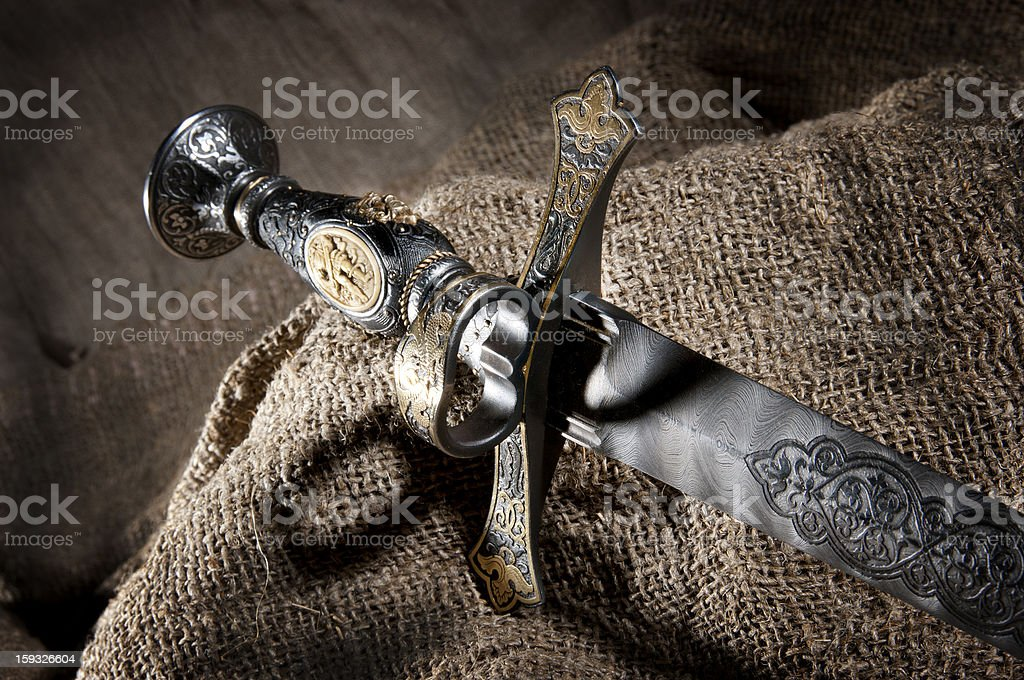 Dagger royalty-free stock photo