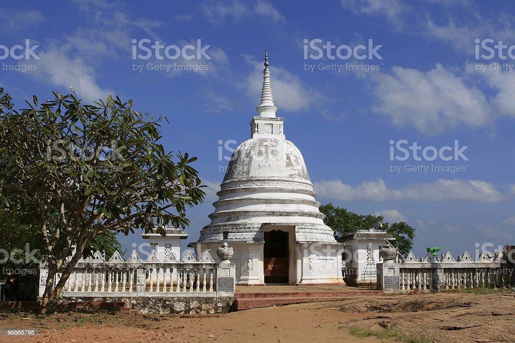 Dagoba d'Avukana, Sri Lanka stock photo