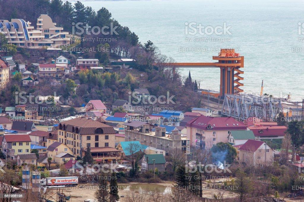 Dagomys, Sochi, Russia stock photo