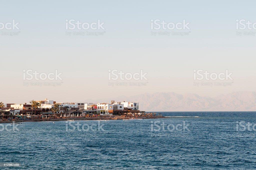 Dahab, Sinai, Egypt stock photo