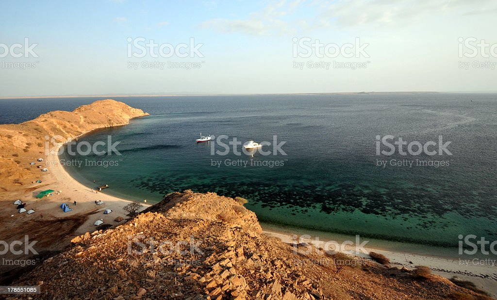 Dahlak Islands stock photo