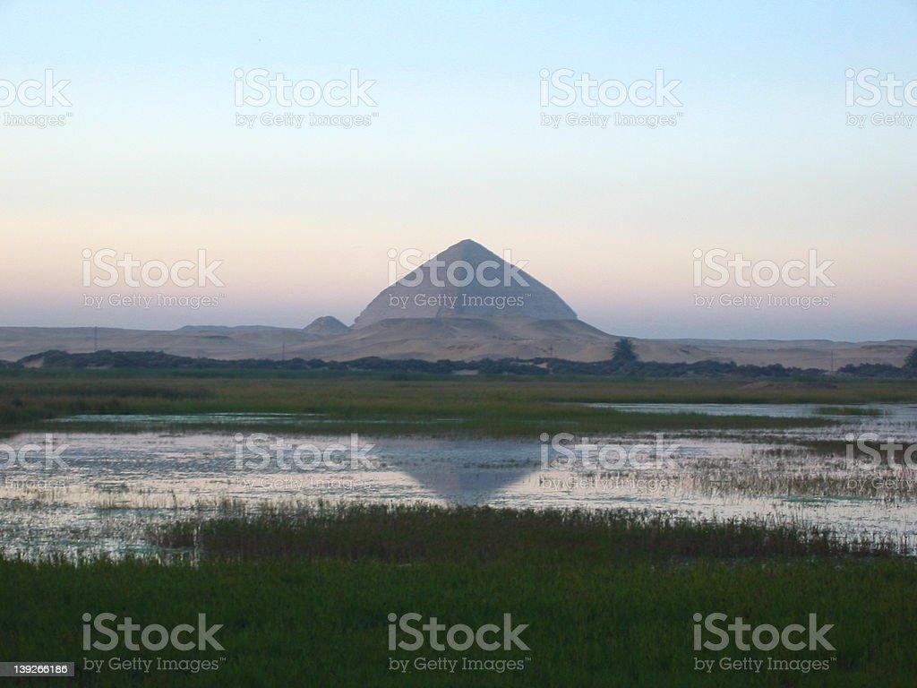 Dahshour Pyramid stock photo