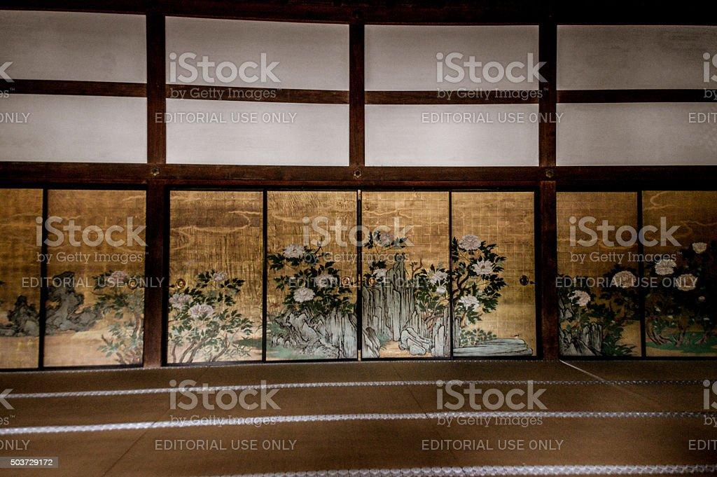 Daikakuji Temple in Kyoto, Japan stock photo