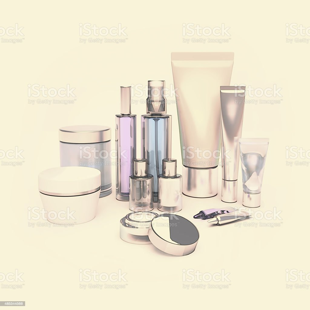 Daily, beauty care cosmetic. Skin care. stock photo