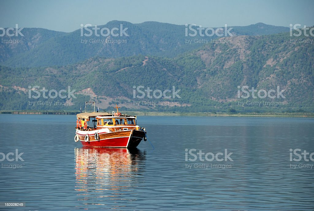 Daily Boat stock photo
