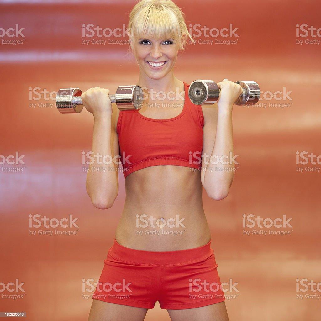 Daily Fitness (XXXL) royalty-free stock photo