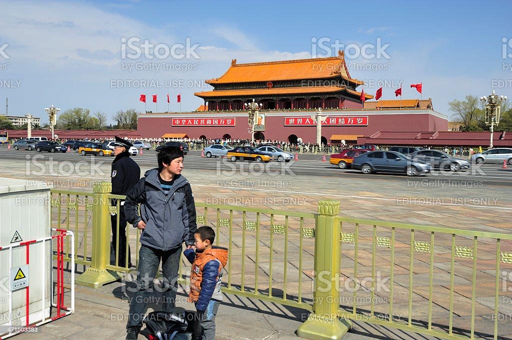 Daily Life - Beijing, China royalty-free stock photo