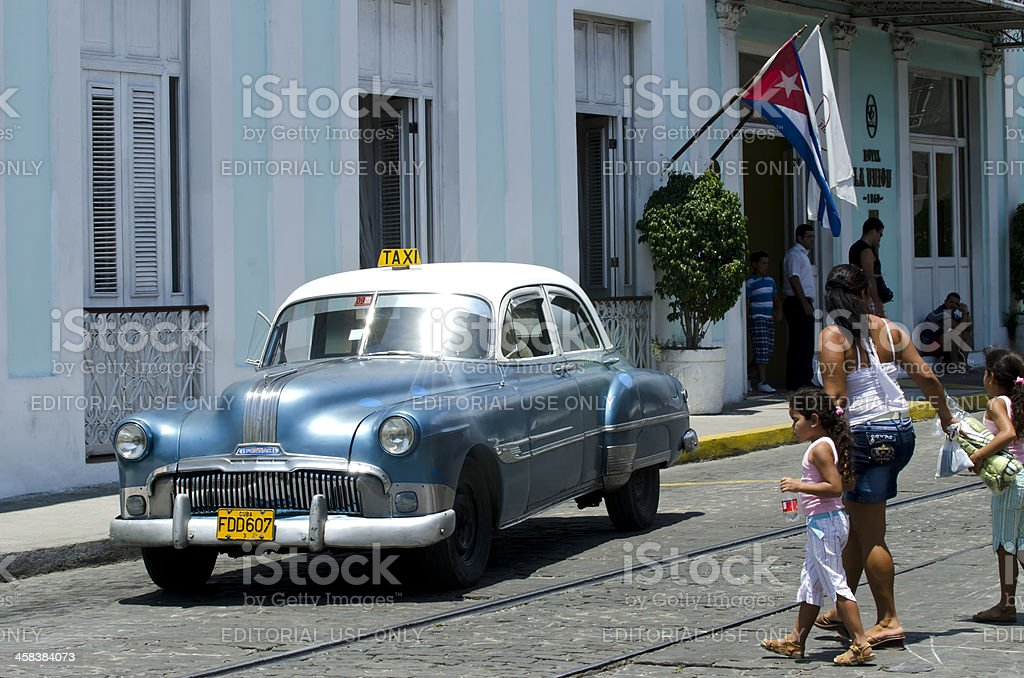 Daily life in Cuba royalty-free stock photo