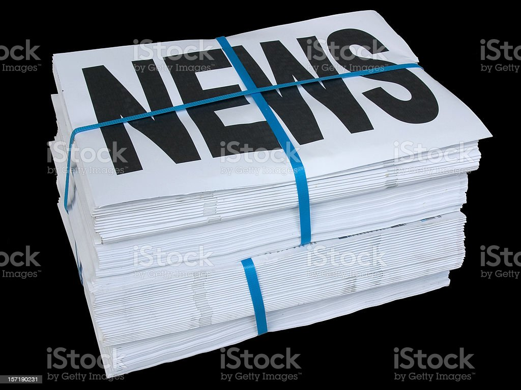 Daily News stock photo