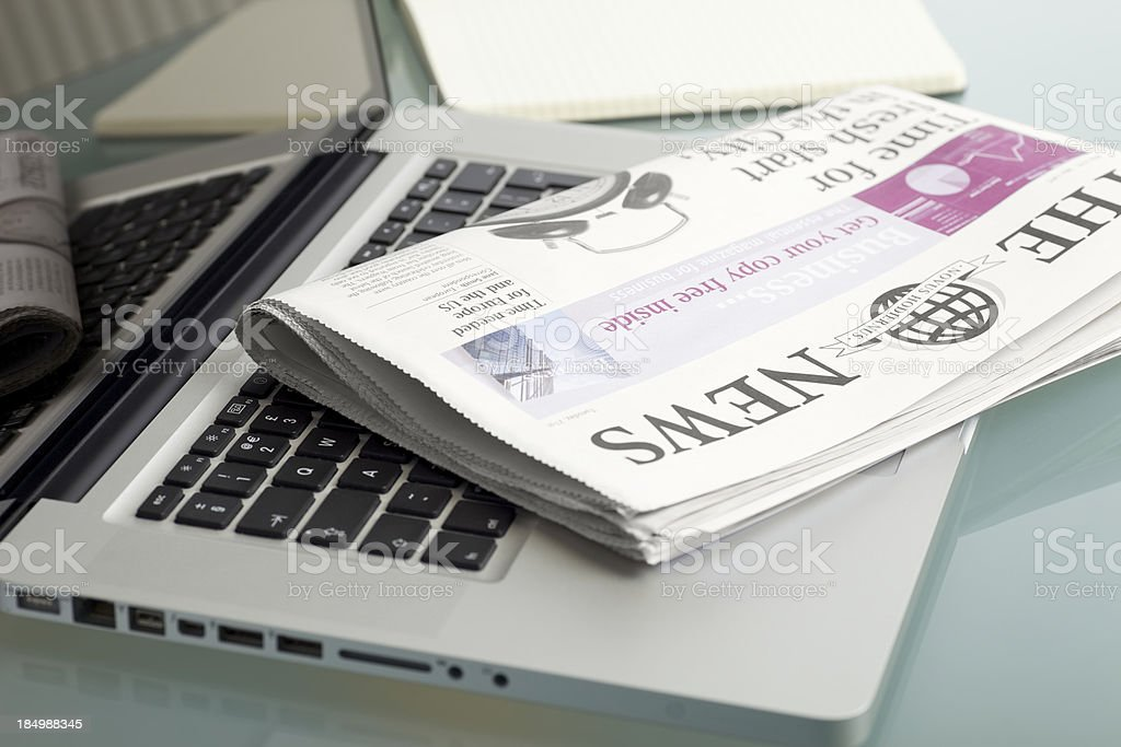 Daily News... royalty-free stock photo