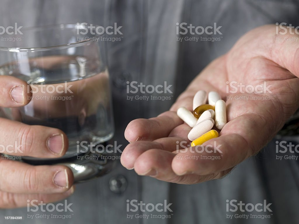 Daily Pills stock photo