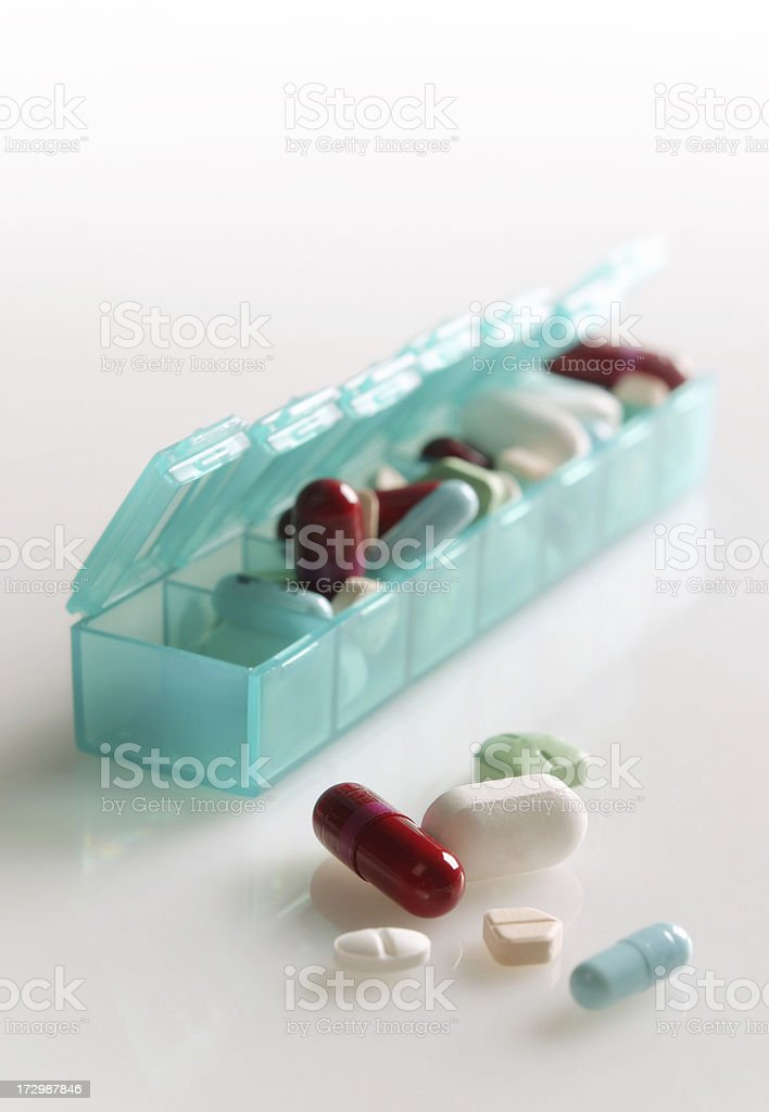 Daily Prescriptions stock photo