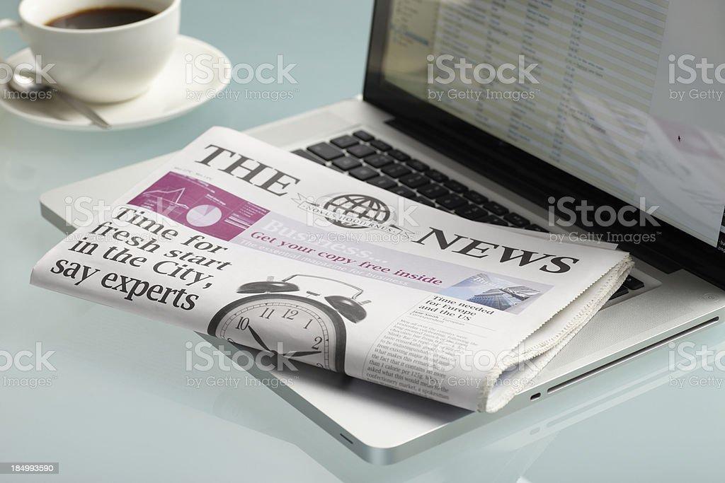 Daily Read... royalty-free stock photo