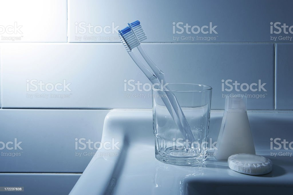 Daily routine royalty-free stock photo