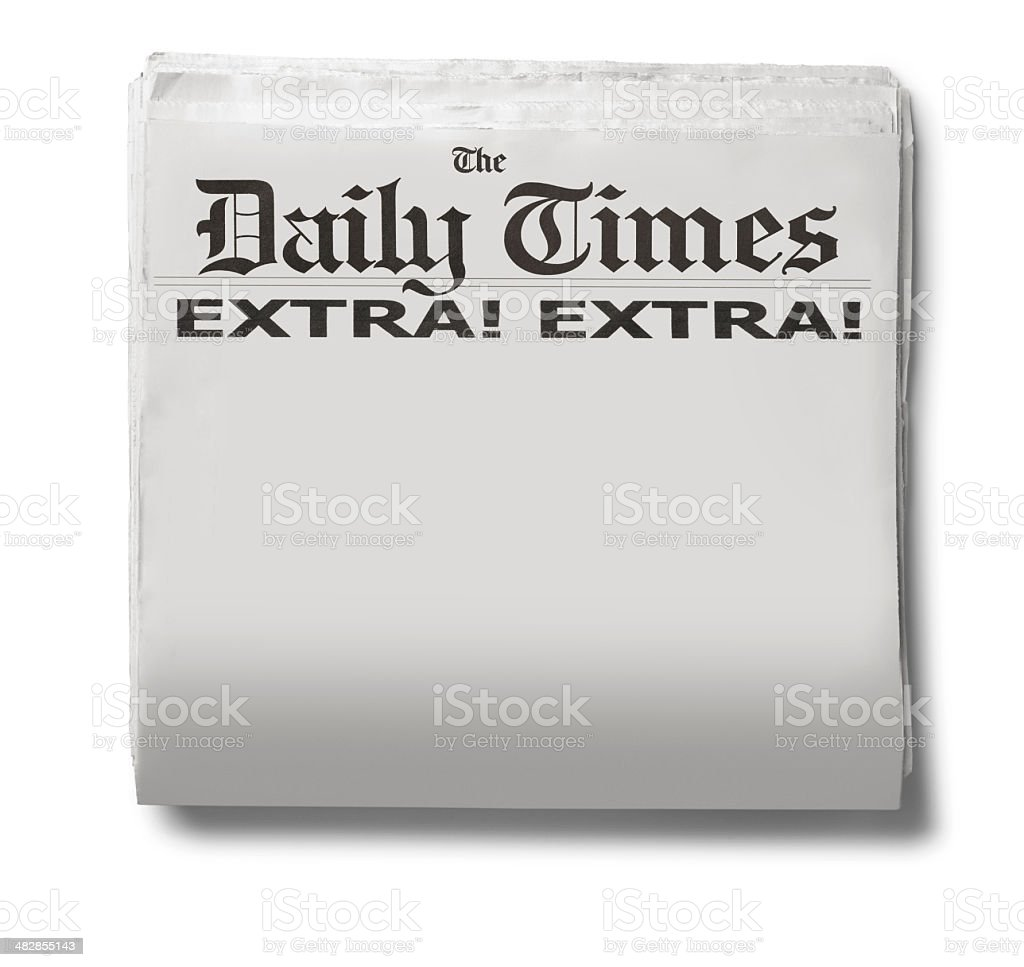 Daily Times royalty-free stock photo