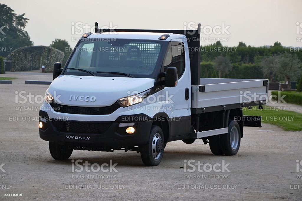 IVECO Daily vehicle stock photo