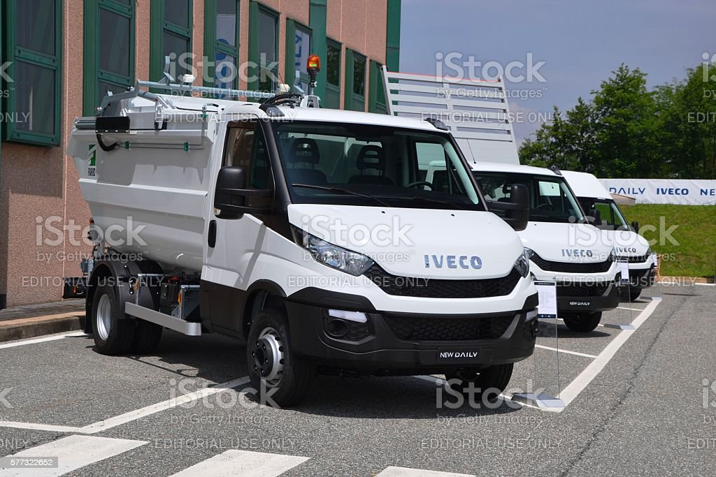 IVECO Daily vehicles stock photo