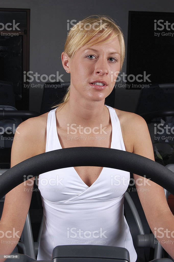 Daily workout stock photo