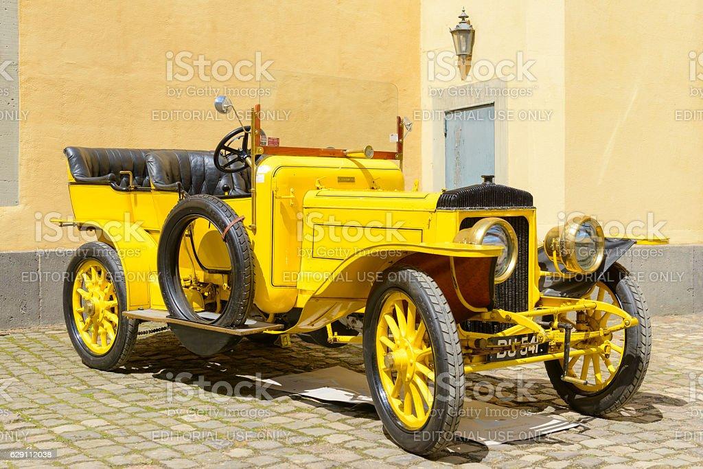 Daimler 45hp vintage 1906 classic vintage car stock photo