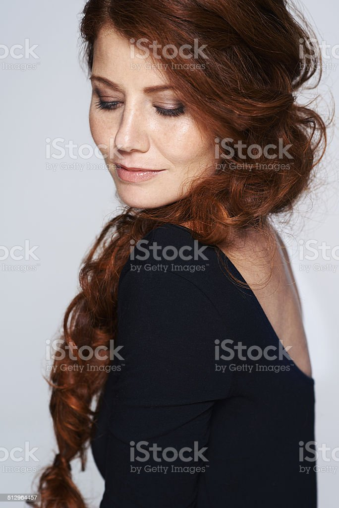 Dainty and delicate stock photo