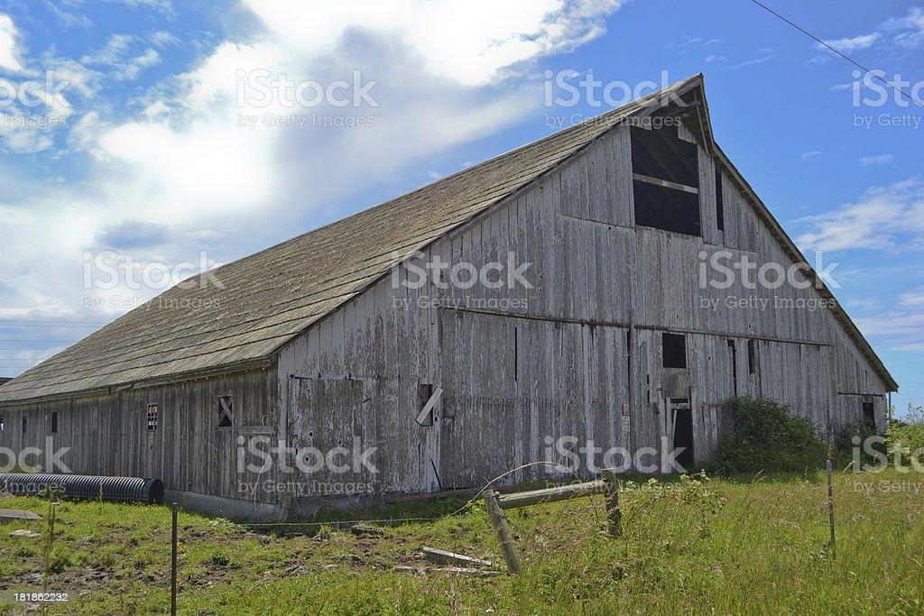 Dairy Barn royalty-free stock photo