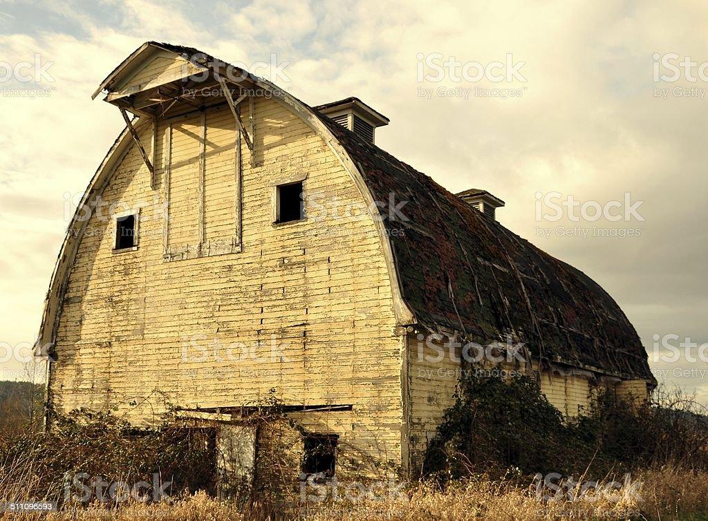 Dairy Barn stock photo