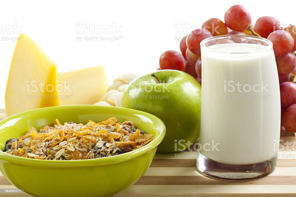 Dairy Breakfast royalty-free stock photo