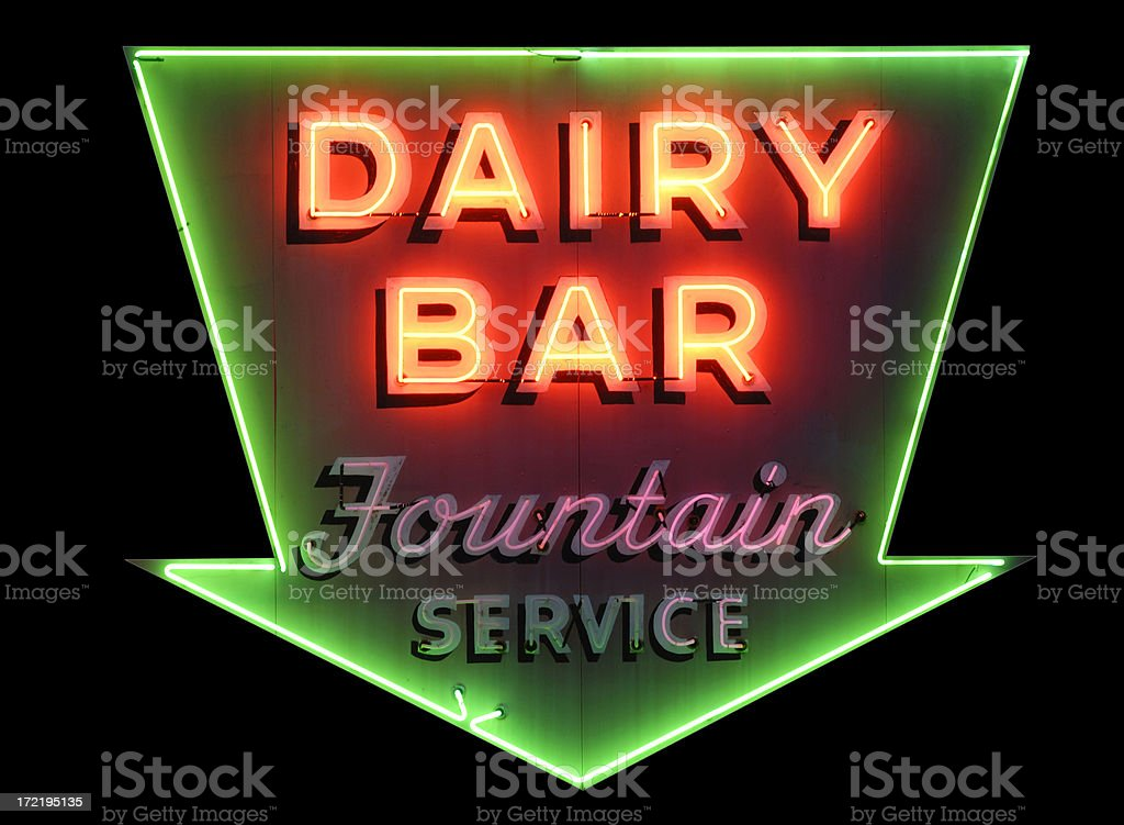 Dairy Night royalty-free stock photo
