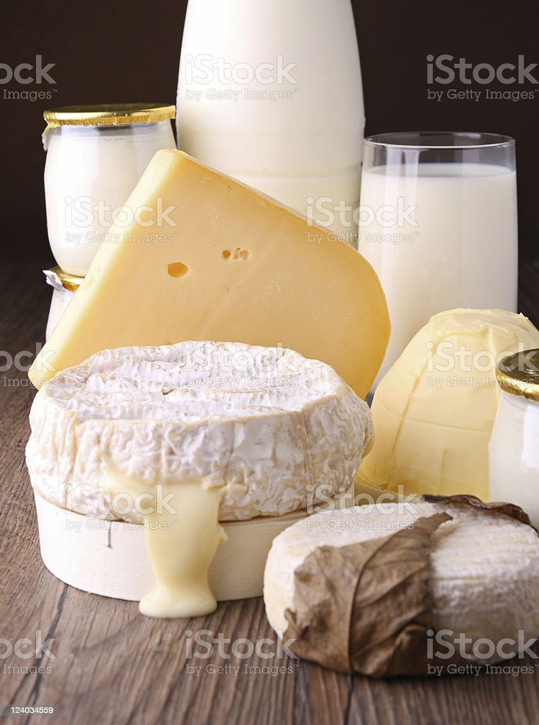dairy products royalty-free stock photo