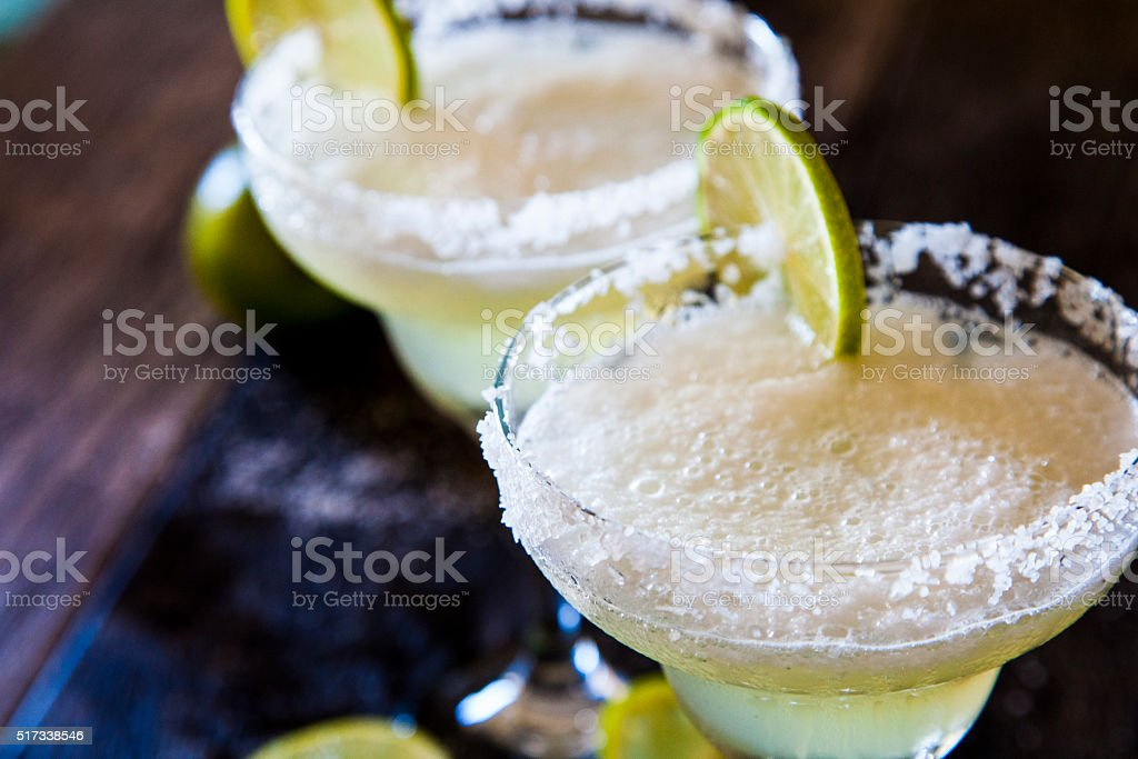 Margaritas stock photo