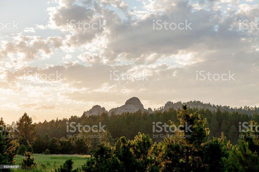 Dakota Land stock photo