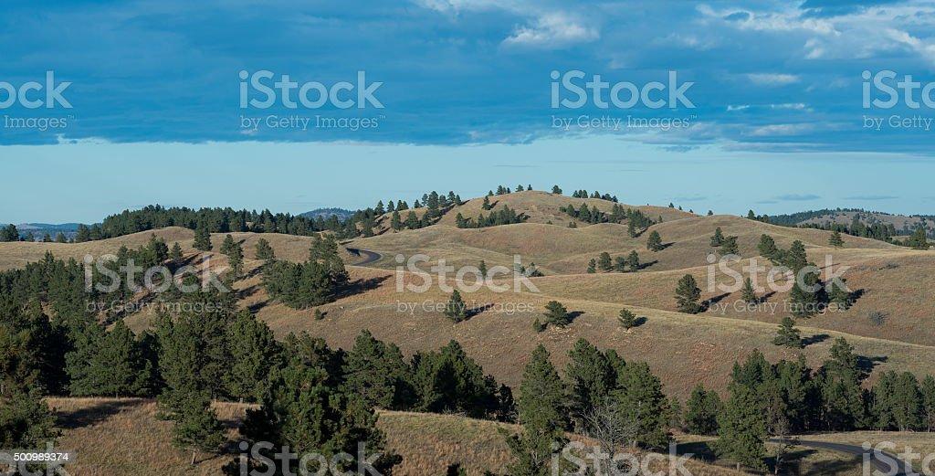 Dakota landscape stock photo