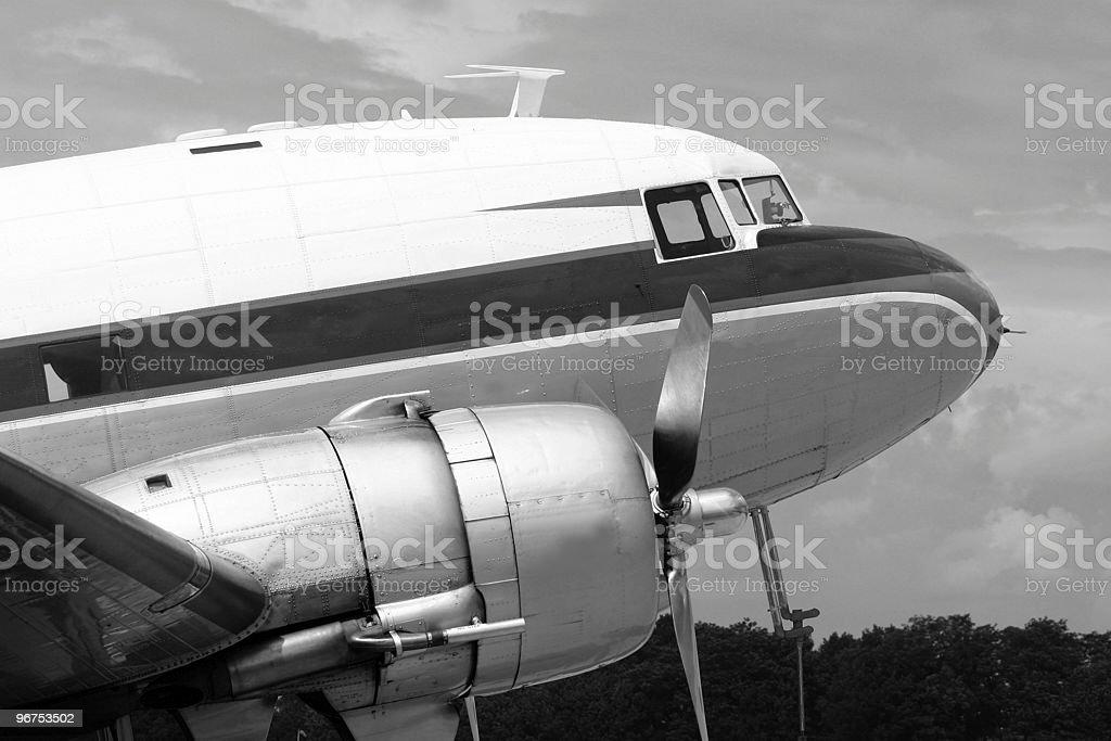 DC-3 Dakota stock photo
