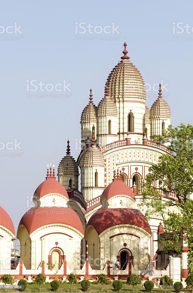 Dakshineswar Temple royalty-free stock photo