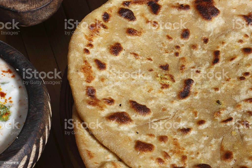 Dal Jo lolo is a indian pancake stock photo
