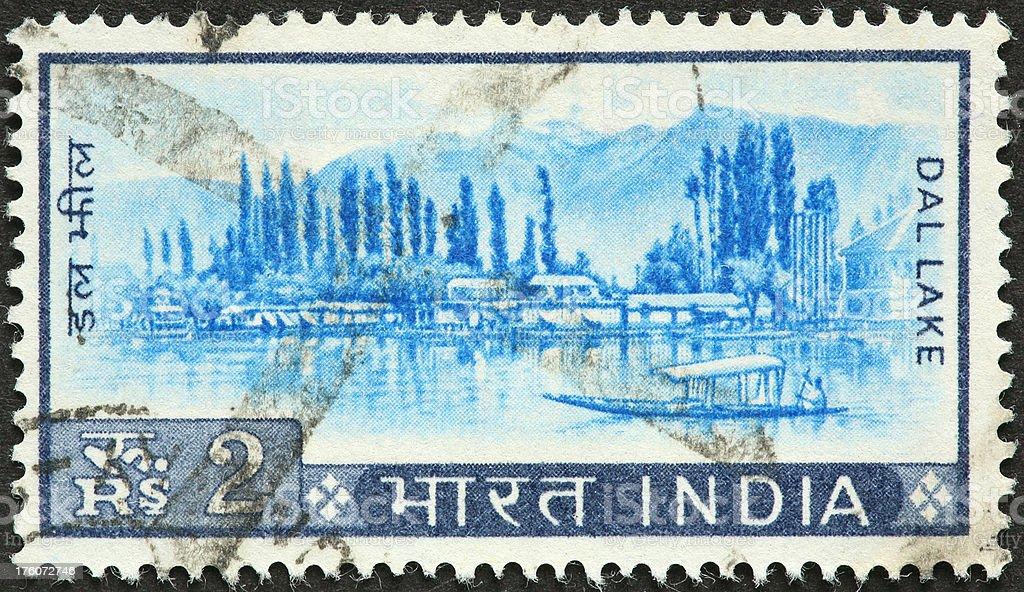 Dal Lake  India royalty-free stock photo