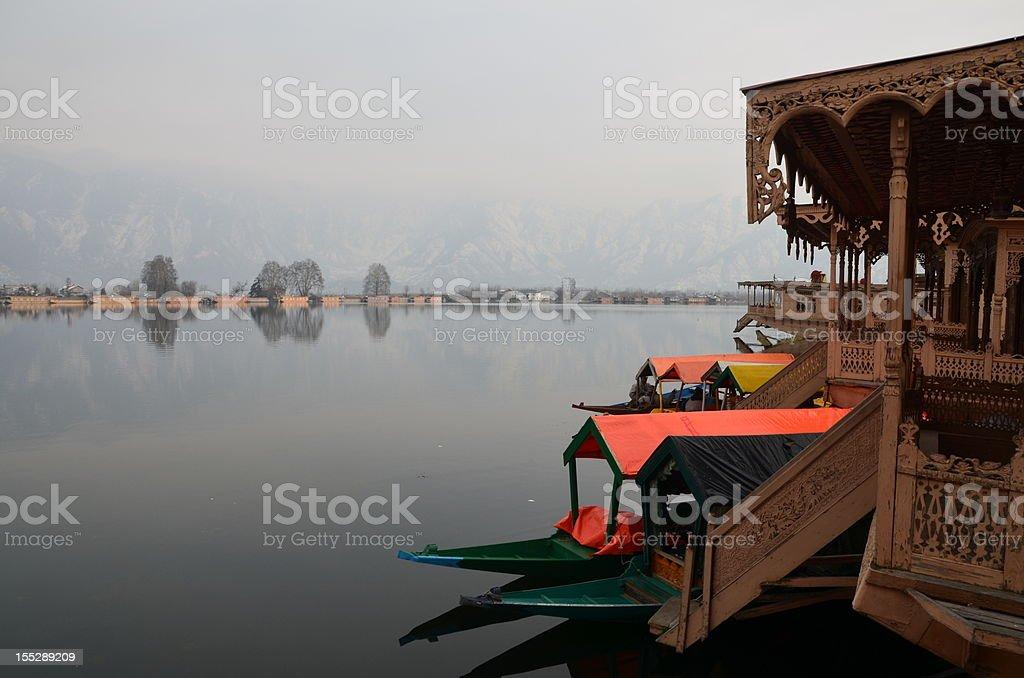 Dal Lake, Kashmir of India royalty-free stock photo